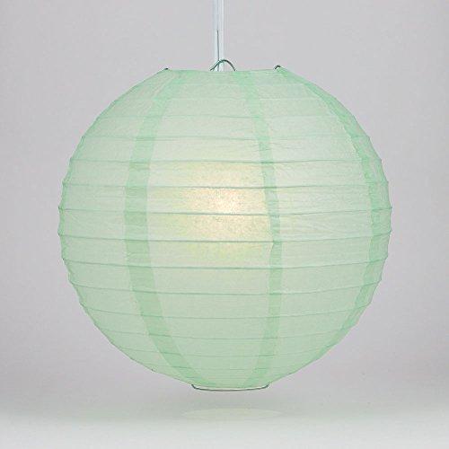 Quasimoon PaperLanternStore.com 14 Inch Cool Mint Green Round