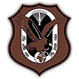 Aufkleber//Sticker USLw Unteroffizierschule der Luftwaffe BW Wappen 6x7cm A2478