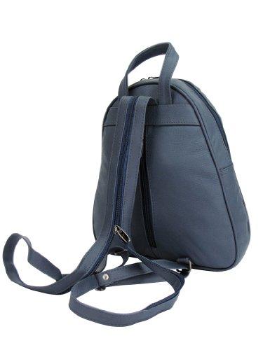 Lorenz - Bolso mochila  para mujer Azul