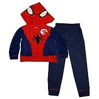 Marvel Spiderman Boys Long Length Pajama 18 Months - 10 Years