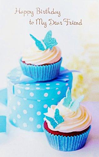 Happy Dear Birthday Friend - Happy Birthday to My Dear Friend Greeting Card -
