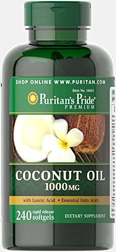 Puritans Pride Coconut Release Softgels