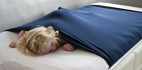 The SnugBug: A Sensory Compression Sheet Custom Sized For Your Bed! The Original Weighted Blanket Alternative!