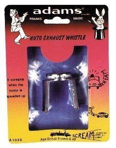 Exhaust Whistle Rack Pack Gag Prank
