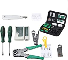 KKmoon lan network fix cable tester hand tool kit