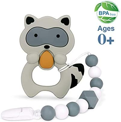 moopok Teething Silicone Teether Pacifier product image