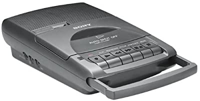 Sony TCM-929 Pressman Desktop Cassette Recorder with Automatic Shut-Off from Sony