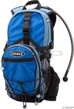 Source Outdoors Spinner Pro Race Hydration Cargo Pack (Blue, 3-Litres), Outdoor Stuffs