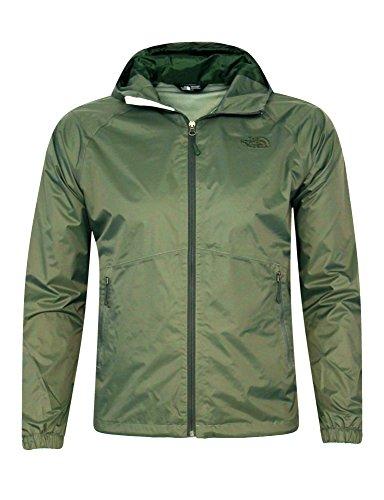 The North Face Mens Oscar Green Boreal Rain Jacket (S) - North Face Jacket Wind