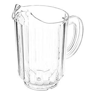 Tablecraft 364 60 oz San Plastic Pitcher by Tablecraft