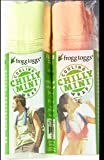 Frogg Toggs Cooling Towel Set Tangerine + Hi Vis Green Neck Wrap Chilly Mini Chill Pad (2-Pack)