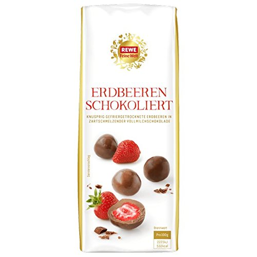 Milk Chocolate Covered Freeze-Dried Strawberries (10-pack)
