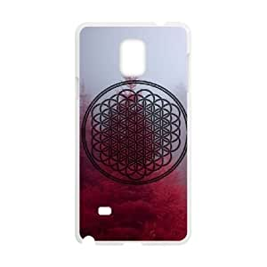New Fashion Cover Case for Samsung Galaxy Note 4 with custom Bring Me The Horizon