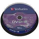 Verbatim DVD onbewerkt Spindel. 10 Stuk
