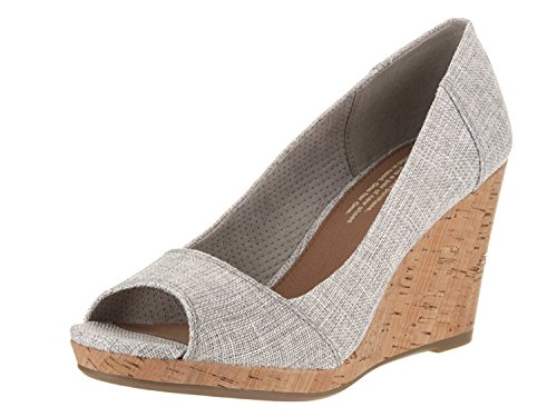 TOMS Womens Stella Wedge (7.5 B(M) US, Drizzle.Grey)