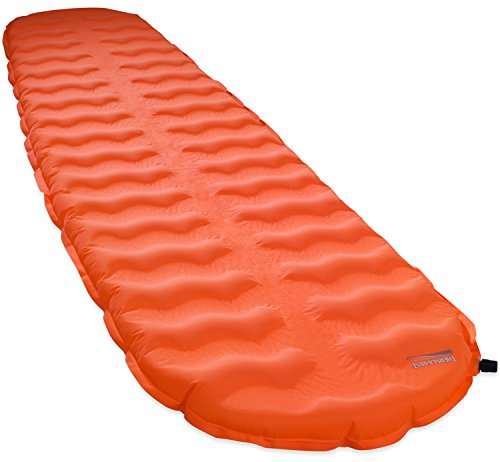 Therm-a-Rest EvoLite Lightweight Self-Inflating Foam Backpacking Mattress, Large - 25 x 77 Inches