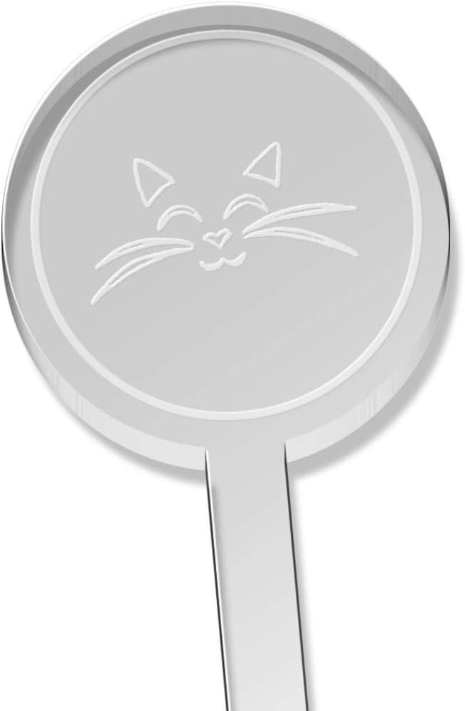 Swizzle Sticks Azeeda 10 x Cat Face Short Drink Stirrers DS00020378