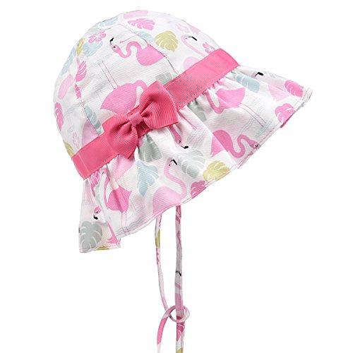 cc0df6f6e1399 SOMALER Baby Girls Sun Hats Toddler Kids Spring Lightweight Foldable Cotton  Cap - Buy Online in Oman.
