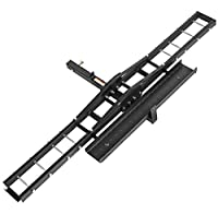 Direct Aftermarket Steel Motorcycle Scooter Dirt Bike Rack Carrier Hauler Hitch Mount Rack Ramp Anti Tilt Anti Wobble