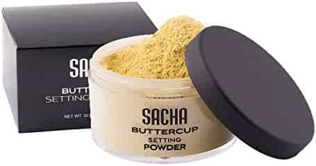 BUTTERCUP POWDER. No flashback. No ashy look. Face powder for medium to deep skin tones. 1.0 ounce