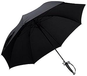 VENKON - Auffälliger Automatik Regenschirm mit Griff im Säbel / Degen Design...