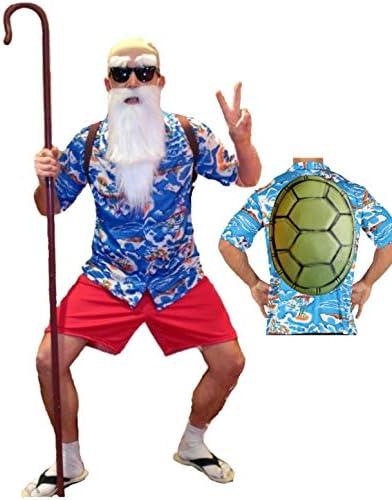 Disfraz de Maestro Tortuga Hawai: Amazon.es: Ropa y accesorios