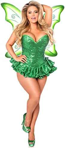 11df7e348 Daisy Corsets Women s Top Drawer Premium Sequin Fairy Corset Dress Costume