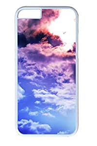 iphone 6 4.7inch Case and Cover Cloudy Day PC case Cover for iphone 6 4.7inch White