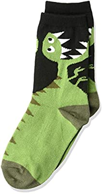 K. Bell Socks Boys' Big Novelty Crew