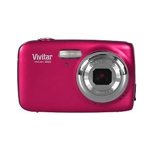 41groxa83eL. SS300  - VIVITAR VX022-PNK 10.1 Megapixel VX022 Digital Camera (Pink)