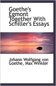 goethe essays