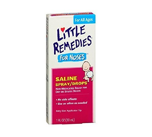 Little Remedies for Noses Saline Spray/Drops 1 fl oz  by Lit
