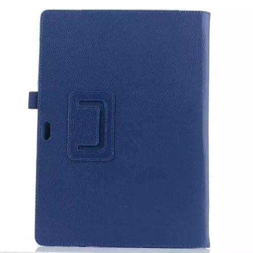Folio marca Profesional 3 Tablet 1 Funda Microsoft Fundas alta Style 2 inShang soporte elegante carcasa cubierta navy de negocio clase PU Estilo y Microsoft in blue pluma Stylus para Surface Surface3 Book Fqw5xHP7w