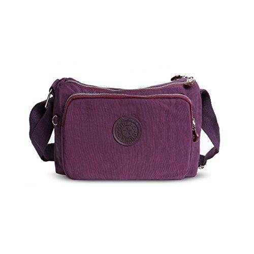 Craze London - Purple Shoulder Bag Woman