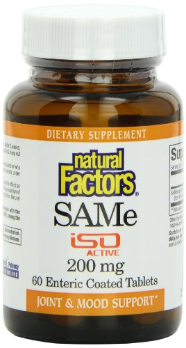 Natural Factors même comprimés de 200mg, 60-comte