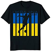 Ukraine Football Jersey 2018 Ukrajina Soccer T-Shirt
