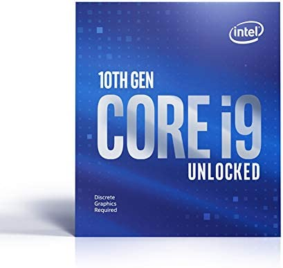 Intel Core i9-10900KF Desktop Processor 10 Cores as much as 5.3 GHz Unlocked Without Processor Graphics LGA1200 (Intel 400 Series chipset) 125W