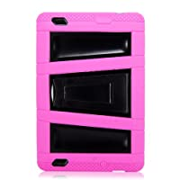 Cellularvilla Tm Combo Case for Amazon Kindle Fire Multi color Hybrid Armor Kickstand Hard Soft Case Cover by Cellularvilla