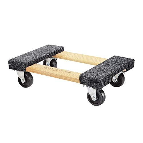 (Furniture Dolly Platform With Wheels Moving Dolly Furniture Mover. Piano Dolly Rolling Surface Measures 12