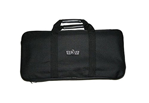 GXG Black Padded Airsoft Paintball Gun Travel Storage Case Bag 21x10 by Loader
