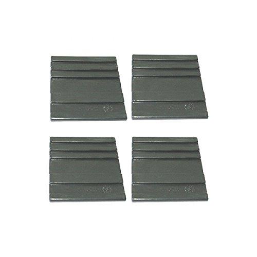 ORIGINAL ATIKA Ersatzteil - Gleitplatten unten (4 Stück) für ASP 6-1050 **NEU**