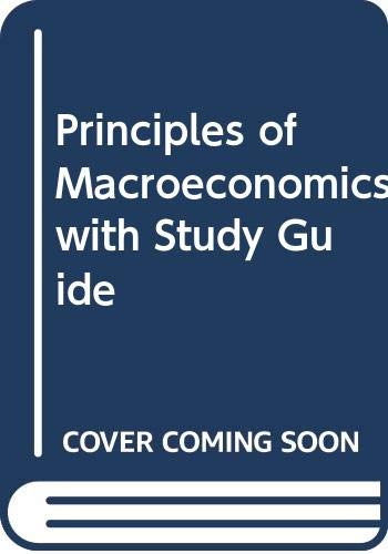 Principles of Macroeconomics with Study Guide