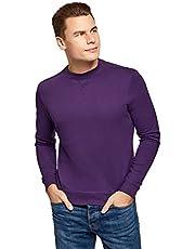 oodji Ultra Basic katoenen sweatshirt voor heren