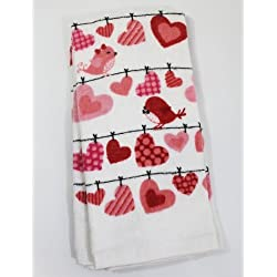 Valentine's Day 2 Pack Kitchen Towels - Love Birds