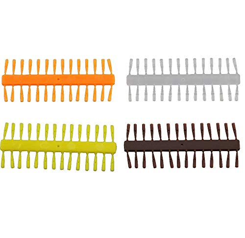 (Fishing Lures - 10PCS Wise Tackle Quick Stops/Bait Stops for Carp Fishing Terminal End Tackles- Hair Rigging Corn or Soft Pellets and Paste - (Color: Orange))