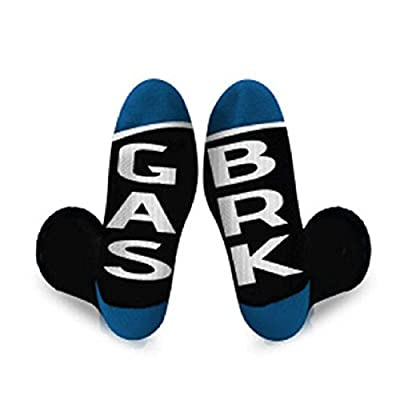 Gregs Automotive Ford Gas Brake Socks - Bundle with Driving Style Decal: Automotive