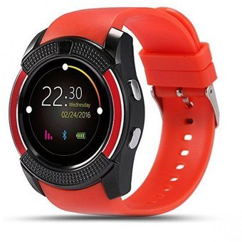 SMARTWATCH V8/IOS/ANDROID (Rojo). Eve Mon Crois.