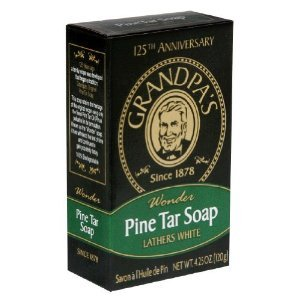 Soap Co. savon de goudron de pin de grand-père 4,25 Onces les