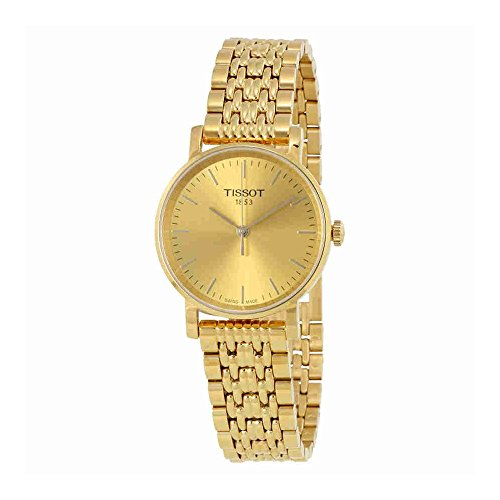 Champagne Dial Jewelry - Tissot Women's Everytime Small - T1092103302100 Silver/Yellow Gold One Size