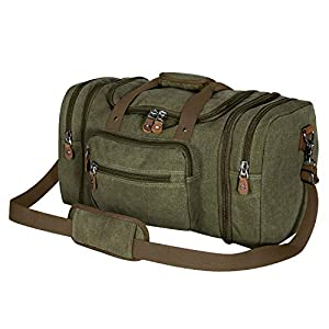 Plambag Canvas Duffle Bag for Travel – 50L